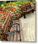 Formal Garden Metal Print by Elena Elisseeva