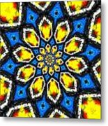 Kaleidoscope Of Primary Colors Metal Print by Amy Cicconi