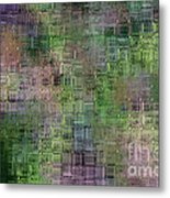 Technology Abstract Metal Print by Michal Boubin