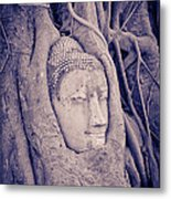 The Ancient City Of Ayutthaya Metal Print by Thosaporn Wintachai