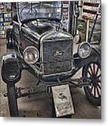 1926 Ford Model T Runabout Metal Print by Douglas Barnard