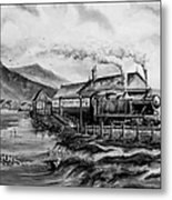 A Day At The Seaside Metal Print by Andrew Read