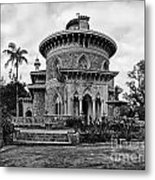 Monserrate Palace Metal Print by Jose Elias - Sofia Pereira