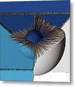 3d Abstract 19 Metal Print by Angelina Vick