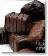 Chocolate Candies Metal Print by Amy Cicconi