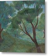 A Thought Of Summer Metal Print by Robert Meszaros