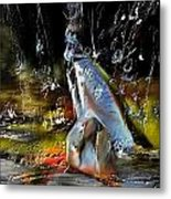 Abstract 1 Metal Print by Francoise Dugourd-Caput