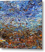 After A Rain Metal Print by James W Johnson