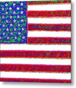 America - 20130122 Metal Print by Wingsdomain Art and Photography