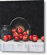 Apple Still Life Metal Print by Rita Miller