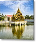 Bang Pa In Palace Thailand Metal Print by Colin and Linda McKie