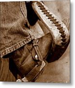 Boot N Stirup Metal Print by Bill Keiran
