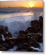 Breaking Dawn Metal Print by Mike  Dawson