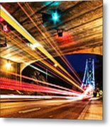 Bridge And Tunnel Metal Print by Alexis Birkill