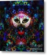 Cat Carnival Metal Print by Klara Acel