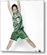 Celtics Fan Metal Print by Tolga Kavut