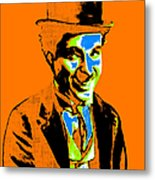Charlie Chaplin 20130212p28 Metal Print by Wingsdomain Art and Photography
