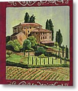 Chianti And Friends Collage 1 Metal Print by Debbie DeWitt