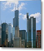 Chicago - It's Your Kind Of Town Metal Print by Christine Till