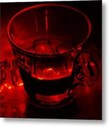 Cozy Evening Cup Of Coffee Metal Print by Jenny Rainbow
