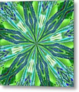 Crystal Ocean Metal Print by Donna Blackhall
