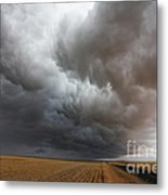 Dark Storm Clouds Metal Print by Boon Mee