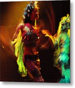 Diabolic. Passionate Dance Of The Night Angels Metal Print by Jenny Rainbow