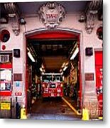 Engine Company 65 Firehouse Midtown Manhattan Metal Print by Amy Cicconi