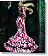 Flamenco Series No. 10 Metal Print by Mary Machare
