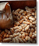 Food - Peanuts  Metal Print by Mike Savad