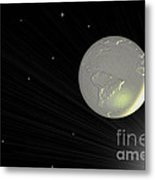 Future Earth 2 Metal Print by Cheryl Young