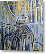 Guardian Whisper Metal Print by Adriana Garces
