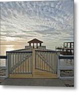 His Mercies Begin Fresh Each Morning Metal Print by Bonnie Barry