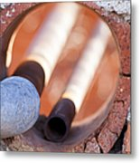 Hole In The Wall Metal Print by Fran Riley