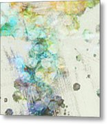 Inversion Abstract Art Metal Print by Ann Powell