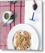 Italian Food Metal Print by Joana Kruse