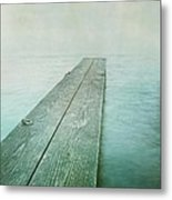 Jetty Metal Print by Priska Wettstein