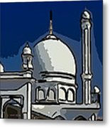 Kashmir Mosque 2 Metal Print by Steve Harrington