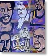 Lakers Love Jerry Buss 2 Metal Print by Tony B Conscious