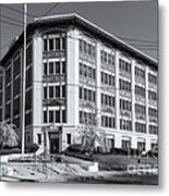 Landmark Life Savers Building II Metal Print by Clarence Holmes