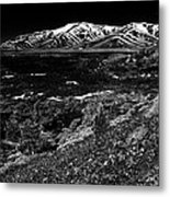 Lavascape Metal Print by Benjamin Yeager