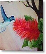 Let's Celebrate Spring Is Here Metal Print by Janis  Tafoya