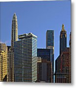 Let's Talk Chicago Metal Print by Christine Till