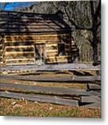 Lincoln's Boyhood Home Metal Print by Mark Bowmer