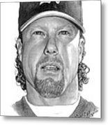 Mark Mcgwire Metal Print by Harry West