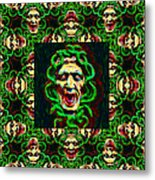 Medusa's Window 20130131p0 Metal Print by Wingsdomain Art and Photography