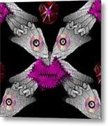 Meteoroid Creature  Coming From Comets And Androids Pop Art Metal Print by Pepita Selles