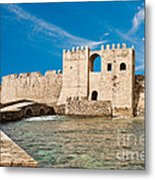 Methoni Venetian Fortress Metal Print by Gabriela Insuratelu