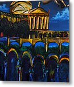 Michelangelo Renaissance Arches Metal Print by Impressionism Modern and Contemporary Art  By Gregory A Page