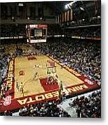 Minnesota Golden Gophers Williams Arena Metal Print by Replay Photos